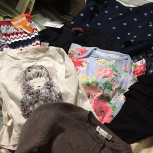 Huge lot baby girl clothes